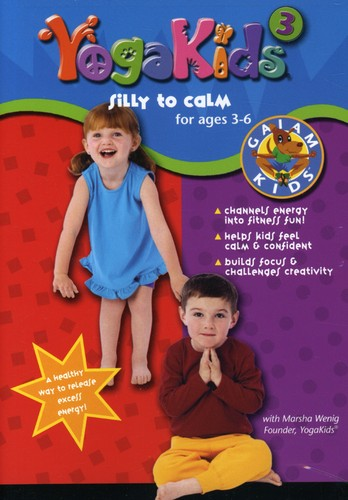 Gaiam Kids: Yogakids 3 (3-6) Silly-To-Calm