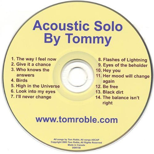 Acoustic Solo By Tommy