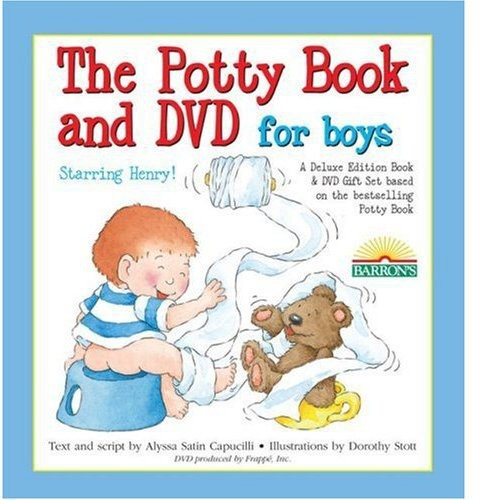 The Deluxe Potty Movie Set - Boys [With Book]