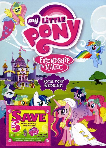 My Little Pony Friendship Is Magic: Royal Pony Wed
