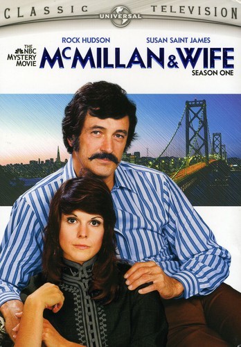 McMillan and Wife: Season One [Full Frame] [2 Discs] [Snap Cases With Outer Box]
