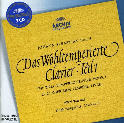 WELL TEMPERED CLAVIER: BOOK 1 [Import]