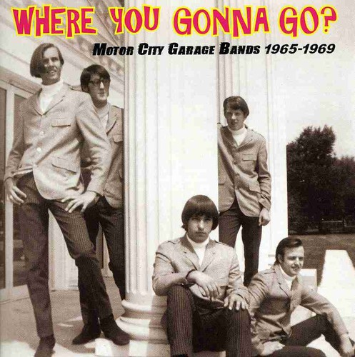 Where You Gonna Go? Motor City Garage Bands 1965-1969