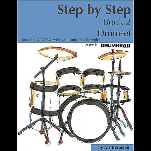 Step By Step Book 2 Drumset