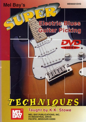 Super Electric Blues Guitar Picking Techniques