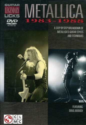 Metallica: Guitar Legendary Licks 1983-1988 [Instructional]
