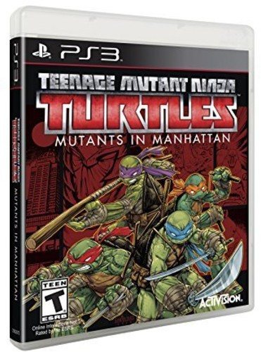 TMNT: Mutants in Manhattan for PlayStation 3