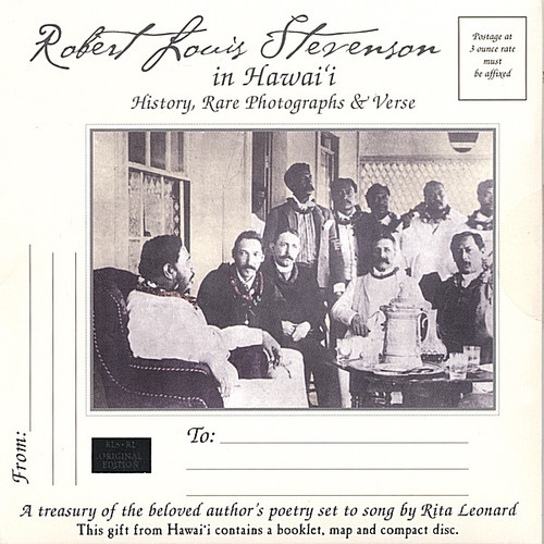 Robert Louis Stevenson in HawaII-History Rare Phot