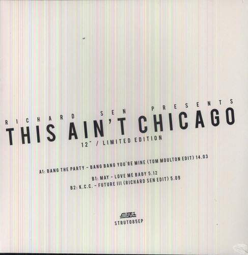 This Aint Chicago: Richard Sen Edits