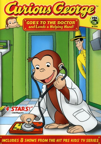 Curious George: Goes to the Doctor and Lends a Helping Hand!