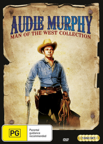 Audie Murphy: Man Of The West DVD Collection [Import]