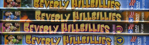 The Beverly Hillbillies: Volumes 1-4