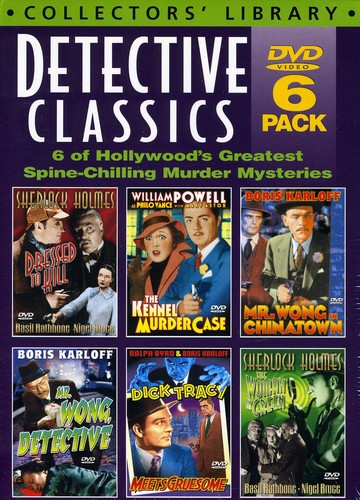 Detective Classics: Volume 1 (Six-DVD Set)