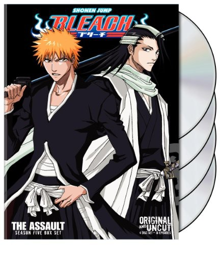 Bleach Uncut Box Set 5