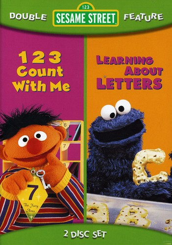 123 Count With Me/ Learning About Letters [Full Frame] [Double Feature] [2 Discs]