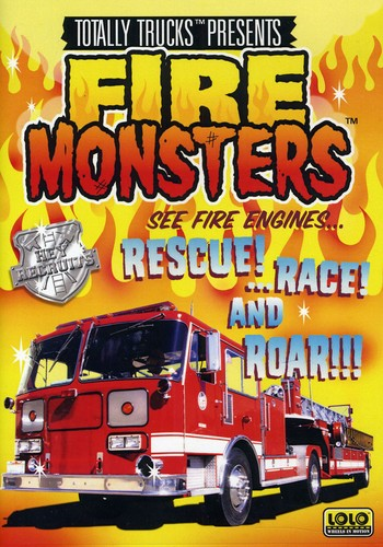 Totally Trucks: Fire Monsters