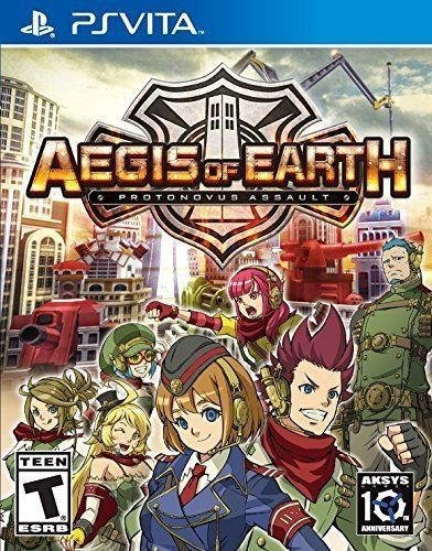 Aegis of Earth: Protonovus Assault for PlayStation Vita