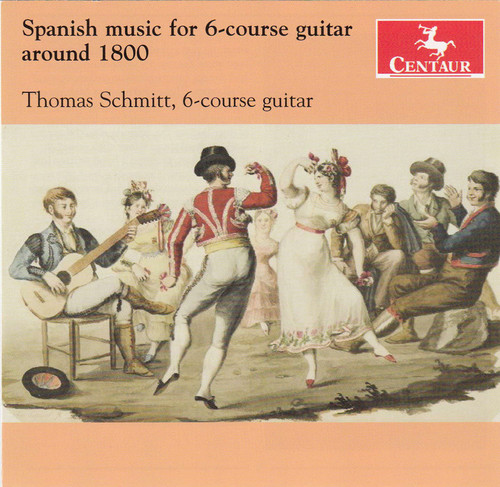 Spanish Music for 6-Course Guitar Around 1800
