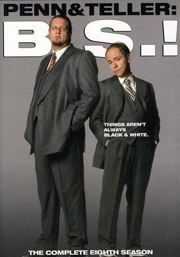 Penn and Teller B.S.!: The Eighth Season [WS] [2 Discs] [Edited Cover]