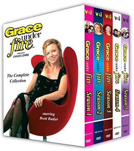 Grace Under Fire: Complete Collection All 5 SeasonAll - 112 Episodes