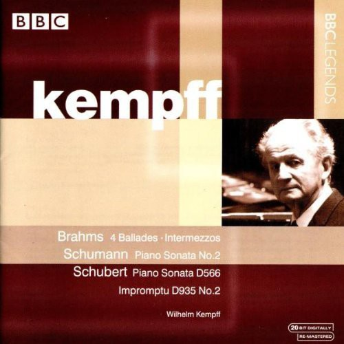 Wilhelm Kempff Plays