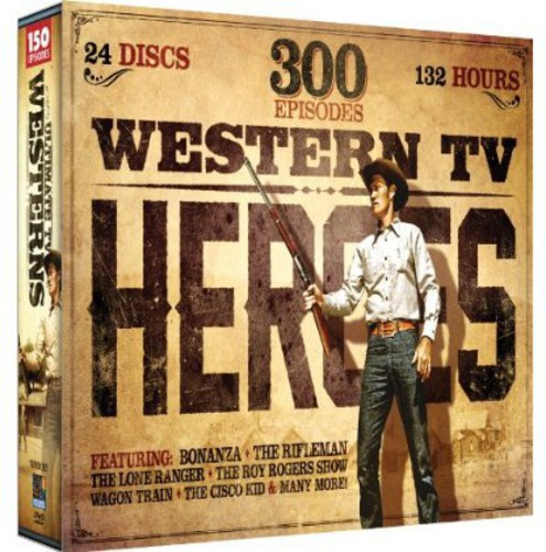 Western TV Heroes, Vol. 1: 300 Episode Collection SxS