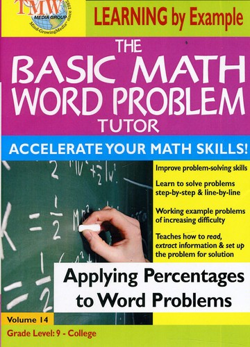 Basic Math Word Problms: Applying Percentages To Word Problems