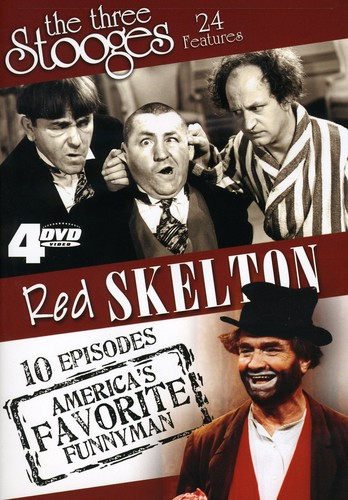 Three Stooges & Red Skelton