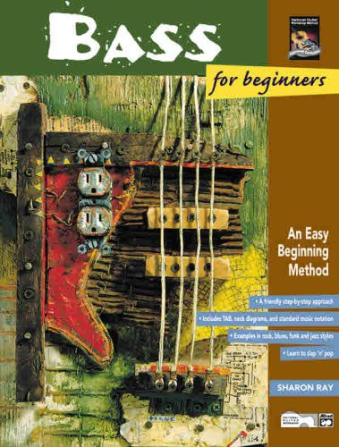 Bass For Beginners and Rock Bass For Beginners [W Book] [Instructional