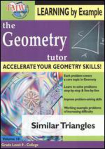 Geometry Tutor: Similar Triangles