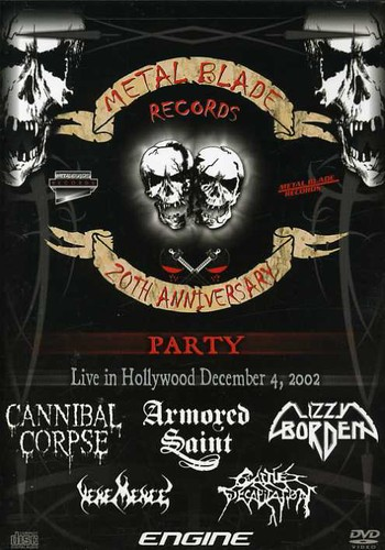 Metal Blades Records: 20th Anniversary Party Live in 02