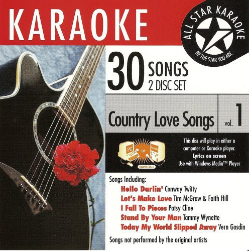 Karaoke: Country Love Songs, Vol. 1