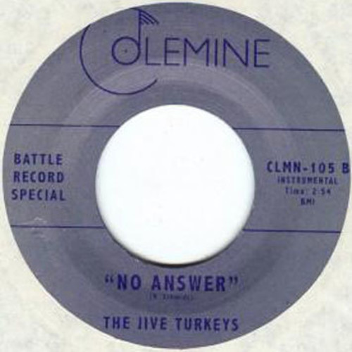Jive Turkeys /  No Answer