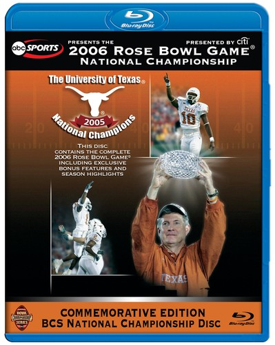 2006 Espn Rose Bowl Game: National Championship