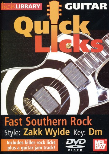 Quick Licks: Zakk Wylde Fast Southern Rock - Key: Dm