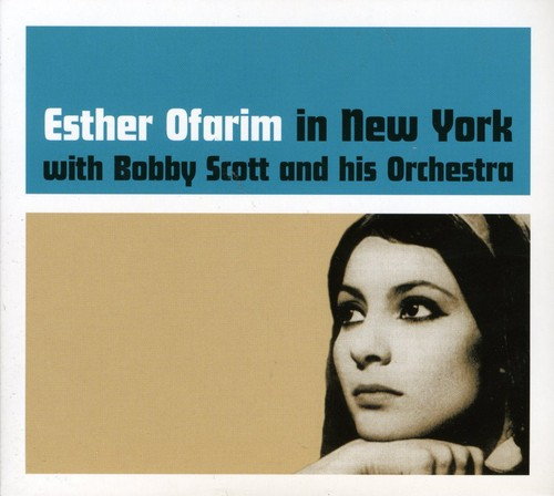 Esther Ofarim In New York With Bobby Scott and His Orchestra