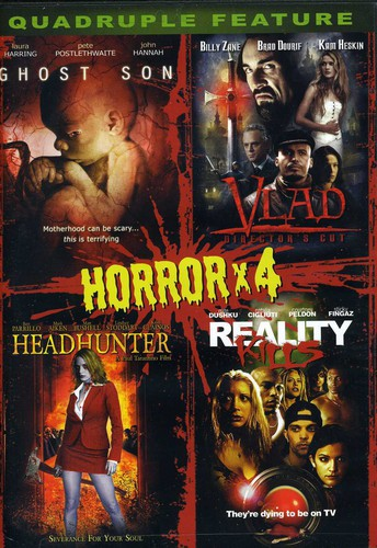 Horror Quadruple Feature 4-In-1