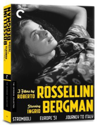 Criterion Collection: 3 Films By Roberto Rossellini Starring IngridBergman