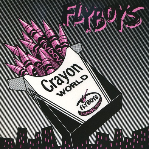 Crayon World/ Square City [Single] [Pink Vinyl] [Limited Edition]