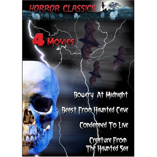 Horror Classics, Vol. 13 [1 DVD - 4 Movies Black and White]
