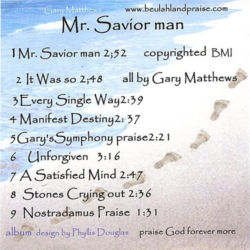Mr. Savior Man