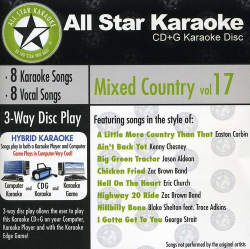 Karaoke: Mixed Country 17 /  Various