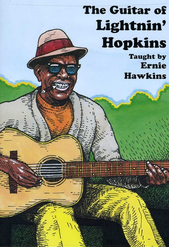 Guitar of Lightnin Hopkins
