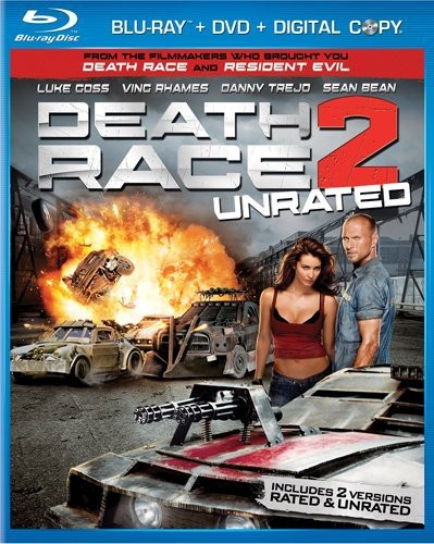Death Race 2 [WS] [Rated/ Not Rated Versions] [Slipsleeve] [Blu-ray/ DVD Combo]