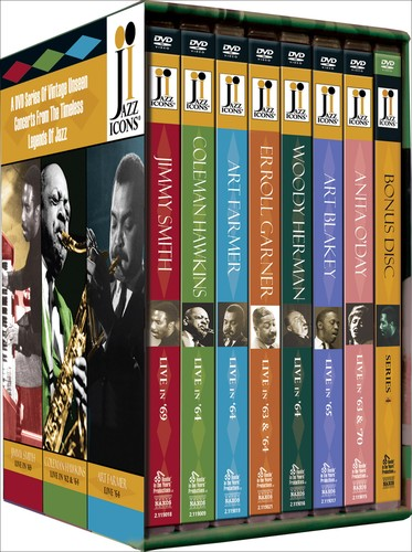 Jazz Icons 4 Boxed Set: Series 4 /  Various