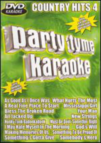 Party Tyme Karaoke: Country Hits: Volume 4