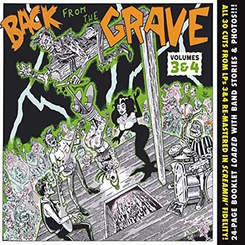 Back From The Grave 3 & 4 /  Various