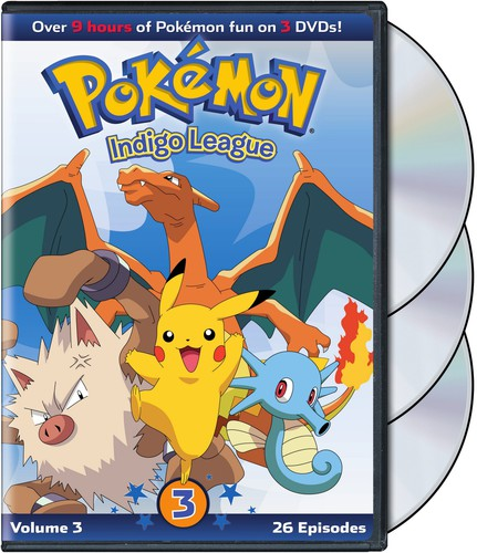 Pokemon: Season 1 - Indigo League Set 3