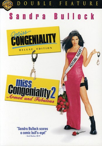 Miss Congeniality [Deluxe Edition]/ Miss Congeniality 2: Armed and Fabulous [2 Discs] [Slim Packs] [Double Feature]