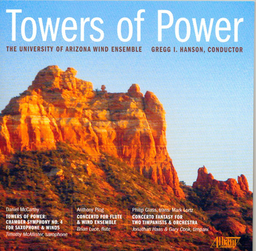 Towers of Power: Univ of Arizona Wind Ensemble
